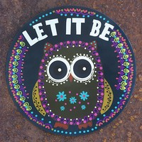 Car  Magnets:  Let  It  Be  Car  Magnet  From  Natural  Life