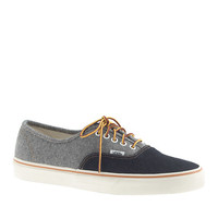 Vans For J.Crew Two-Tone Denim Authentic Sneakers