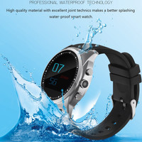 Waterproof Health Smart Watch SmartWatch Supported SIM TF Card Heart Rate Pedometer Sport Watch for iPhone 6S 6S Plus 6 6 Plus