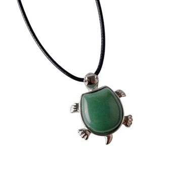 Natural Green Aventurine Turtle Healing Crystal
