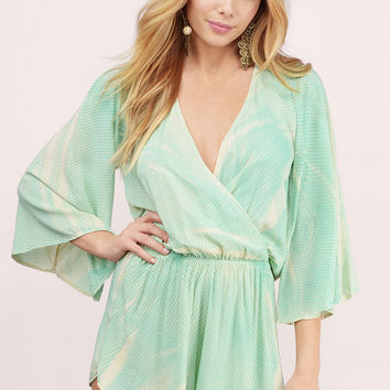 Blue Life Wild And Free Romper