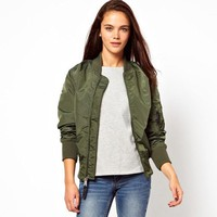 Women's Army Bomber Jacket
