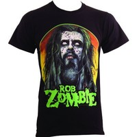 Rob Zombie Scarface Men's Black T-Shirt - Offical Band Merch - Buy Online at Grindstore.com