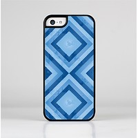 The Blue Diamond Pattern Skin-Sert Case for the Apple iPhone 5c