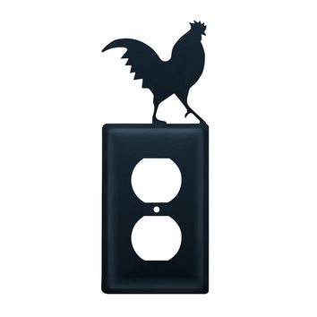 Rooster- Single Outlet Cover