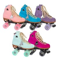 Moxi Lolly Suede High Top Outdoor Roller Skates - Available in 5 Colors