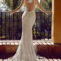 """Wedding dresses with unique backs that make you say """"Wow""""! - Wedding Party"""