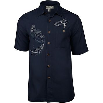 Men's Tarpon Territory Embroidered Fishing Shirt