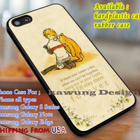 I'll Stay There Forever Winnie The Pooh Quote iPhone 6s 6 6s+ 6plus Cases Samsung Galaxy s5 s6 Edge+ NOTE 5 4 3 #cartoon #disney #WinnieThePooh dl3