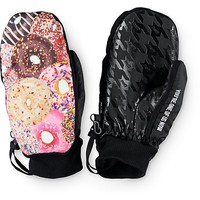 Neff Character Donuts Snowboard Mittens