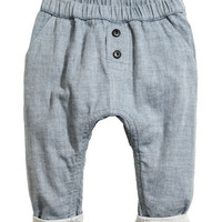 H&M Double-weave Cotton Pants $19.99