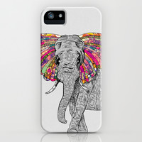 Bella The Happy Butterphant iPhone & iPod Case by Bianca Green