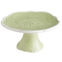 Lacy Mini Cupcake Stand - Green