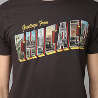 Junk Food Chicago Greetings Tee
