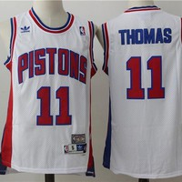 Detroit Pistons #11 Isaiah Thomas Retro Swingman Jersey | Best Deal Online