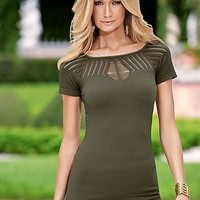 Seamless cut out top by VENUS