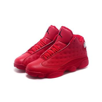 Air Jordan 13 Retro All Red AJ13 Sneakers