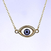 Evil eye necklace Four eyes to select