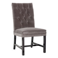 DALIS DINING CHAIR GREY SET OF 2