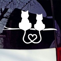 CARPRIE Car Stickers Car Truck Decal Vinyl Graphics Side 3D Cute Cat Body Decal For Vehicles zz120 dropship