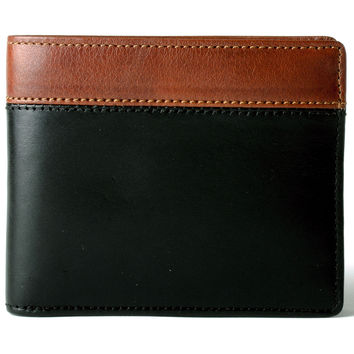 BLACKWOOD BIFOLD 2 COLOR COMBO WALLET