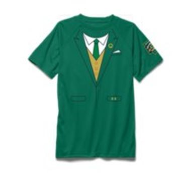 Under Armour Boys' Notre Dame Shamrock Series UA Tux T-Shirt