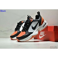 Nike M2K Tekno men's and women's tide brand casual sports running shoes Black