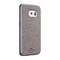 kate spade new york Hybrid Hardshell Case for Samsung Galaxy S6 edge - Multi Glitter/Navy
