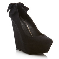 Wonderful Bow Wedge - New In