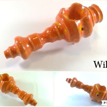 Ceramic Pipe #ASL022 Color: Wildfire