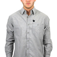Classic Patch Shirt in Charcoal