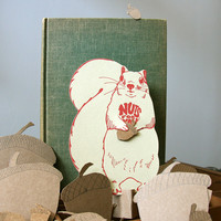 Nuts For You Squirrel Greeting Card