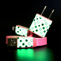 Lou Anne Castillo: 2-in-1 iPhone 5 Set Dot Pink, at 6% off!