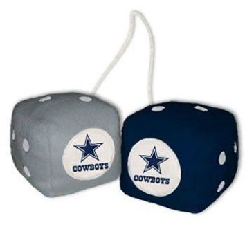 IFSB-CSY2324598003-NFL Dallas Cowboys Fuzzy Dice