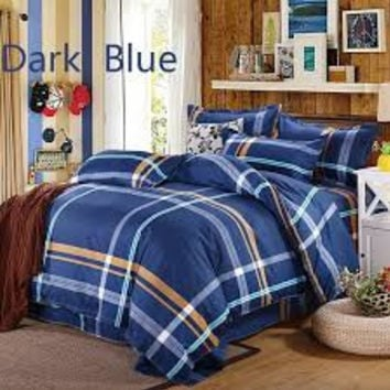 Modern Fashion Bedding Set Duvet Cover Quilt Cover Pillowcases Single/ Full Size (NO Comforter)