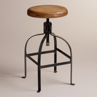 Twist Swivel Stool - World Market