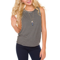 Tea Stripe Top