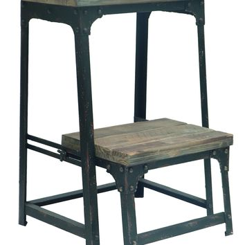 Industrial Step Stool By Crestview Collection Cvfzr247
