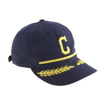 Ebbets Field Flannels For J.Crew Clinton Pilots Bull Denim Ball Cap