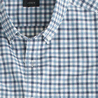J.Crew Mens Secret Wash Shirt In Small Check