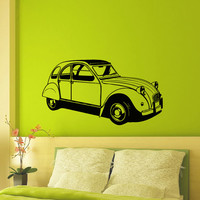 Wall Decals Vinyl Sticker Decal Classic Old Retro Car Housewares Wall Decor Home Interior Design Art Mural Boys Room Kids Bedroom Dorm Z767