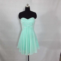 Short Prom Dress 2014, Prom dress, Cocktail prom dress, Mini dress, Sexy prom Dress, Women Summer Dress, Homecoming Dress, Party Dress,Dress