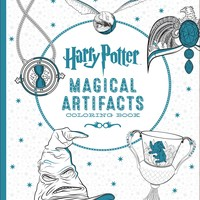 Harry Potter Magical Artifacts Coloring Book CLR