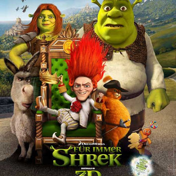 Shrek Forever After (German) 11x17 Movie Poster (2010)
