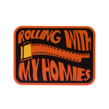 Rolling with My Homies Vinyl Sticker