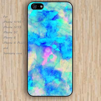 iPhone 6 case watercolor iphone case,ipod case,samsung galaxy case available plastic rubber case waterproof B063