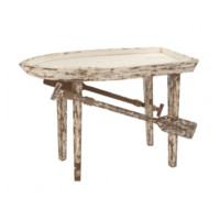 Weathered Wood Boat Table
