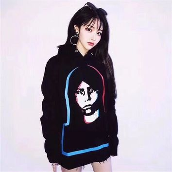 ''GIVENCHY'' Women Men trend Hot Hoodie Cute Sweater