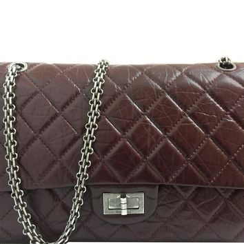 Chanel - Quilted Reissue Handbag - Brown