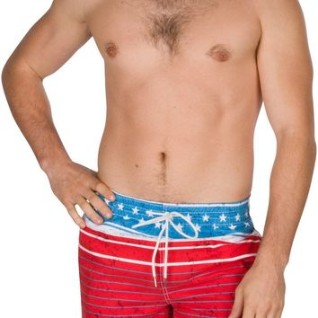 Sakkas Eli Short 3 Pocket Two-Toned Skate Surf Board Short / Swim Trunks